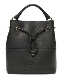 Furla | Black Onyx Brooklyn Medium Drawstring Bag | Lyst