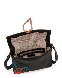 Foley + Corinna - Black Valerie Geo Patch Shoulder Bag - Lyst