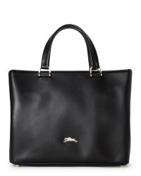 Longchamp | Black Honore 404 Small Tote With Detachable Strap | Lyst