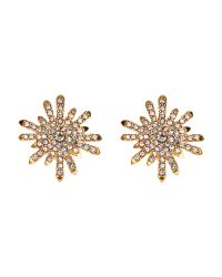 Vince Camuto | Metallic Gold-Tone Stud Earrings | Lyst
