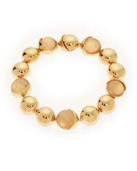 Cole Haan - Metallic Gold-Tone Accented Bracelet - Lyst