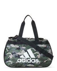 Adidas - Black Camo Diablo Small Duffel - Lyst