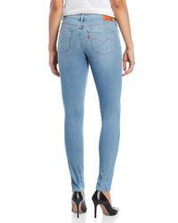 Levi's Bright Side Blue 711 Skinny Jeans