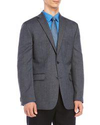 Vince Camuto - Blue Pindot Modern Fit Wool Sport Coat for Men - Lyst