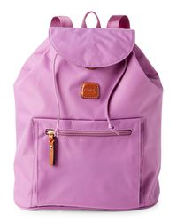Bric's - Purple Violet X-travel Backpack - Lyst