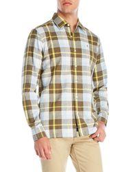 Victorinox - Green Plaid Sport Shirt for Men - Lyst