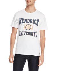 ELEVEN PARIS - White Kendrick University Tee for Men - Lyst
