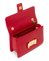 Tom Ford Red Sienna Medium Leather Shoulder Bag