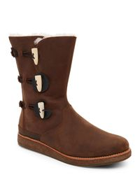 Ugg - Brown Chocolate Kaya All-Weather Boots - Lyst