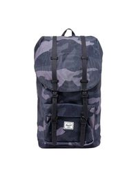 Herschel Supply Co. Blue Little America Camouflage Backpack for men