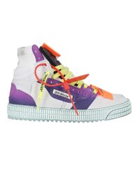 Off-White c/o Virgil Abloh Multicolor Court Sneakers