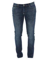 Philipp Plein Blue Skinny Jeans for men