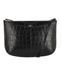 A.P.C. Black Sarah Shoulder Bag