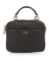 MICHAEL Michael Kors - Gray Mott Mini Crossbody Bag - Lyst