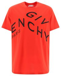 Givenchy Refracted Embroidered Oversized T-shirt for men