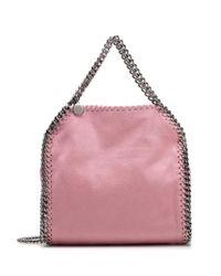Stella McCartney Pink Falabella Mini Chain Tote Bag