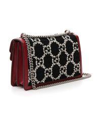 Gucci Multicolor GG Foldover Shoulder Bag