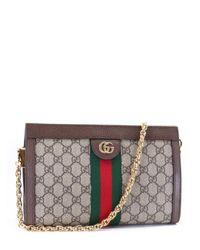 Gucci Multicolor GG Supreme Web Messenger Bag for men