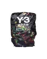 Y-3 Multicolor Contrast Logo Backpack for men