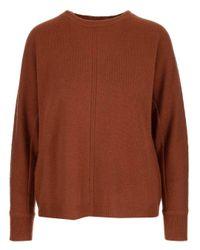 Max Mara Brown Knit Pullover