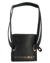 Y. Project Black Mini Accordion Shoulder Bag