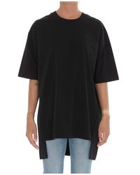 Y-3 Black Asymmetric T-shirt