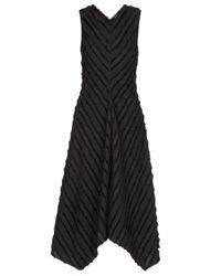 PROENZA SCHOULER WHITE LABEL Proenza Schouler While Label Dresses Black