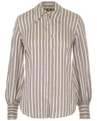 Isabel Marant Multicolor Llana Striped Shirt