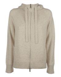 Max Mara White Ghiera Knitted Jacket