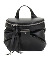 Bally Black Zipped Top Handle Handbag