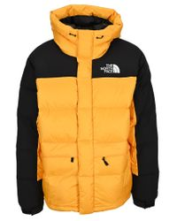 The North Face Yellow Himalayan Down Jacket for men