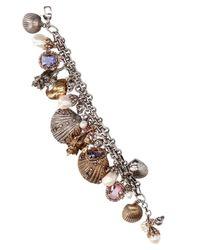 Alexander McQueen - Multicolor Shells Bracelet - Lyst