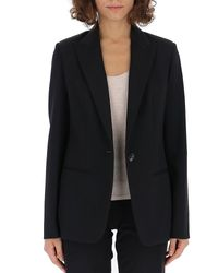 The Row Black Double-faced Suit Jacket