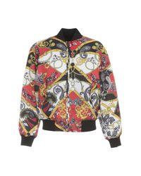 Versace Jeans Multicolor Reversible Bomber Jacket for men