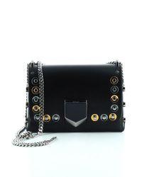 Jimmy Choo - Black Petite Lockett Chain Bag - Lyst