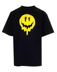 Balenciaga Black Drip Peace Oversized T-shirt for men