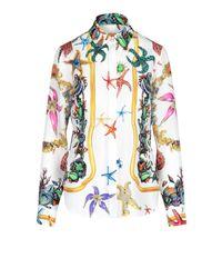 Versace Multicolor Trésor De La Mer Shirt