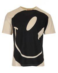 Raf Simons Natural Smiley Face T-shirt for men