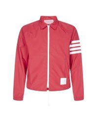 Thom Browne Red 4-bar Jacket for men