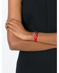 Ferragamo   Red Gancini Bracelet   Lyst