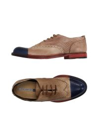 Chiarini Bologna - Natural Lace-up Shoes - Lyst