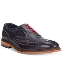 Allen Edmonds - Blue Neumok Wing-Tip Shoes for Men - Lyst