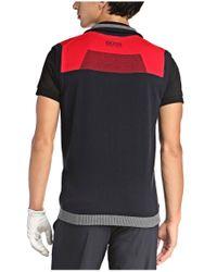 BOSS Green - Blue Vest 'zagi_pro' In Functional Fabric for Men - Lyst
