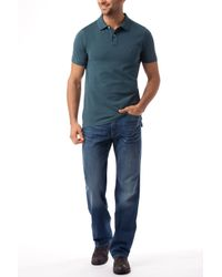 Tommy Hilfiger Blue Slim Fit Polo Top for men