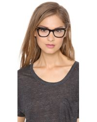 Elizabeth and James Black Chrystie Glasses