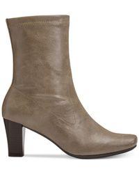 Aerosoles | Natural Geneva Dress Boots | Lyst