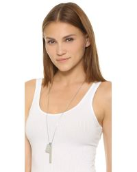 Madewell - Metallic Ensign Necklace - Lyst