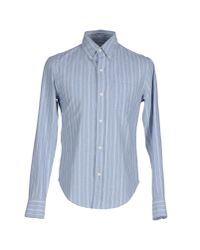 Band of Outsiders | Blue Shirt for Men | Lyst