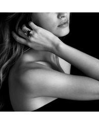 David Yurman - Cushion On Point Ring with Black Onyx and Diamonds - Lyst