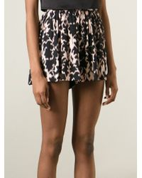 Thakoon Addition - Pink Printed Shorts - Lyst